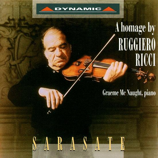 薩拉沙提:讚歌 SARASATE: A Homage by Ruggiero Ricci (CD)【Dynamic】