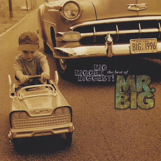大人物合唱團:大到最高點 精選集 Mr. Big: Big Bigger Biggest ~ Greatest Hits (CD) 【Evosound】