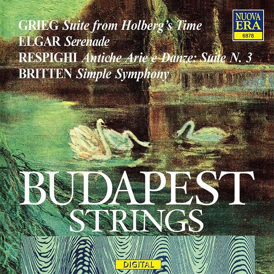 布達佩斯弦樂團:葛利格、艾爾加、雷史畢基、布烈頓:弦樂作品集 (CD)