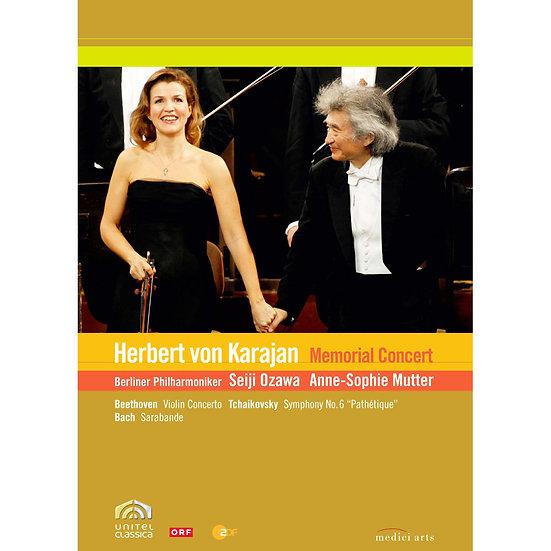~永遠的指揮帝王~卡拉揚100歲冥誕紀念音樂會 Karajan Memorial Concert (DVD) 【EuroArts】