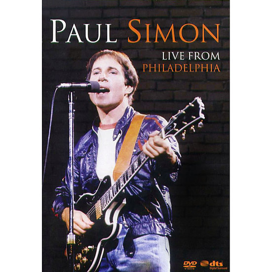 保羅.賽門:費城演唱會 Paul Simon: Live From Philadelphia (DVD) 【Evosound】