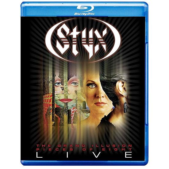 冥河合唱團:曼菲斯演現場實錄 STYX: Pieces Of 8/Grand Illusion - Live (藍光Blu-ray) 【Evosound】