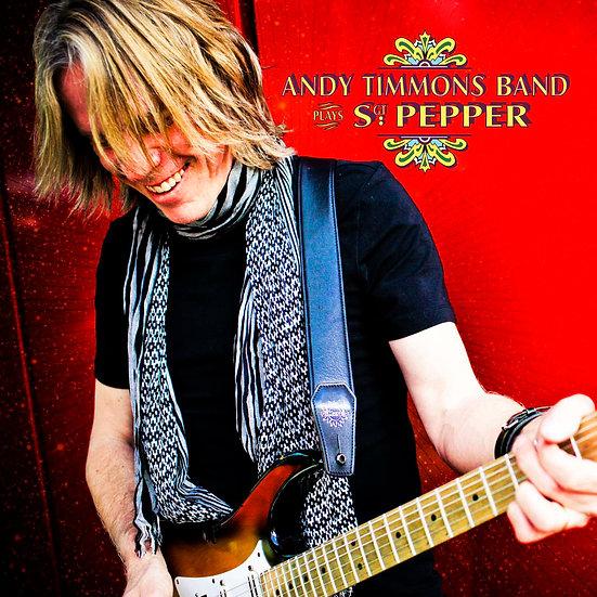 安迪.帝摩斯:披頭四<比伯軍曹寂寞芳心俱樂部> Andy Timmons: Plays Sgt Pepper (CD) 【Evosound】