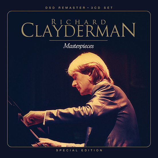 理查.克萊德門曠世名曲全紀錄 Richard Clayderman Masterpieces (3CD) 【Evosound】