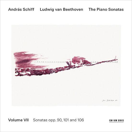 貝多芬鋼琴奏鳴曲集7|鋼琴:席夫 András Schiff / Beethoven: Piano Sonatas Vol.7 (CD) 【ECM】
