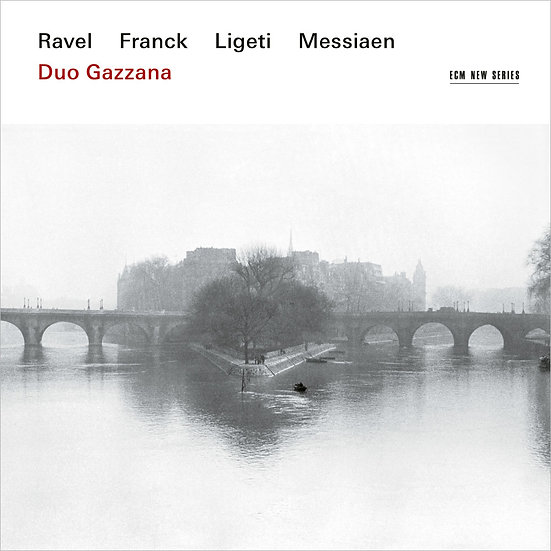 加扎納二重奏:法國印象 Duo Gazzana: Ravel, Franck, Ligeti, Messiaen (CD) 【ECM】