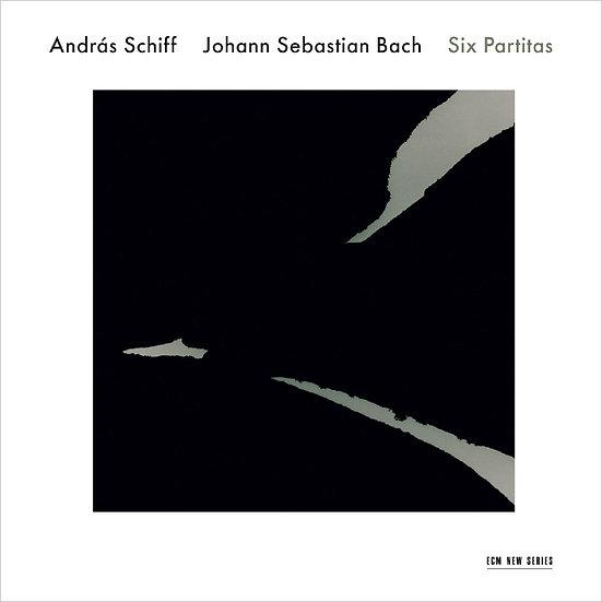巴哈:六首鋼琴組曲|鋼琴:席夫 Johann Sebastian Bach / András Schiff: Six Partitas (2CD) 【ECM】
