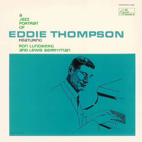 Eddie Thompson: A Jazz Portrait Of Eddie Thompson (CD) 【Venus】