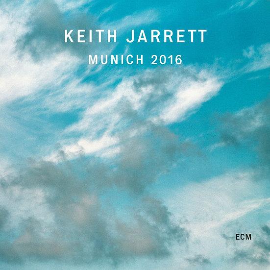 奇斯.傑瑞特:2016慕尼黑音樂會 Keith Jarrett: Munich 2016 (2CD) 【ECM】
