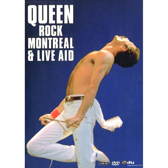 皇后樂團:蒙特婁現場演唱會 Queen: Rock Montreal & Live Aid (2DVD) 【Evosound】