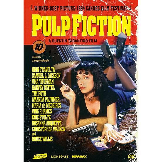 黑色追緝令 Pulp Fiction (DVD)