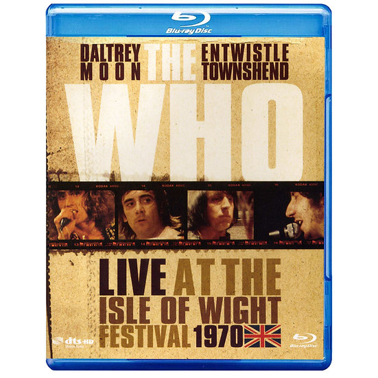 The Who:懷特島音樂節現場演唱會 (藍光Blu-ray) 【Evosound】