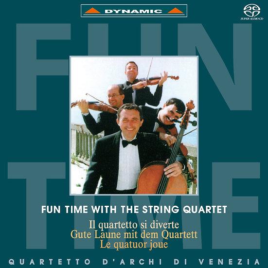 威尼斯古典四重奏:顛覆古典 Fun Time with the String Quartet (SACD)【Dynamic】