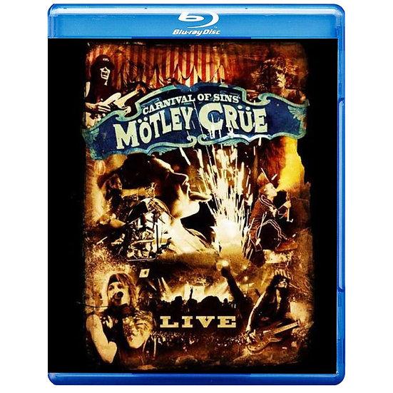 克魯小丑:罪孽嘉年華 Mötley Crüe: Carnival of Sins (藍光Blu-ray) 【Evosound】