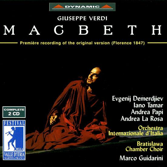 威爾第:歌劇《馬克白》 Verdi: Macbeth (2CD)【Dynamic】