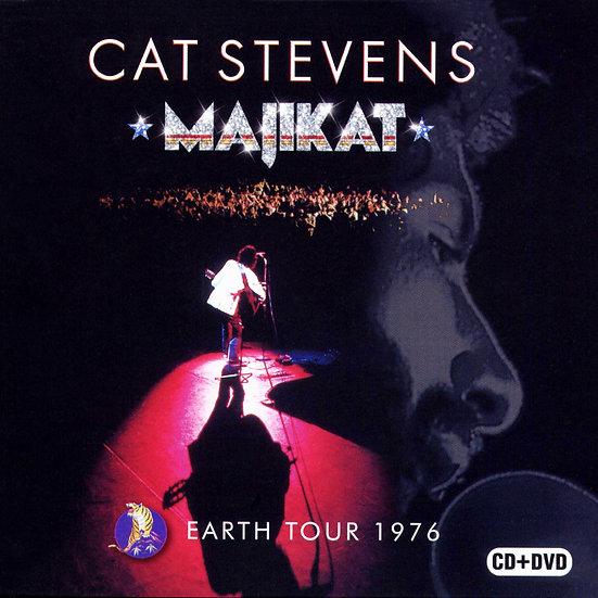 凱特.史帝文斯:Majikat演唱會 Cat Stevens: Majikat Earth Tour 1976 (CD+DVD) 【Evosound】