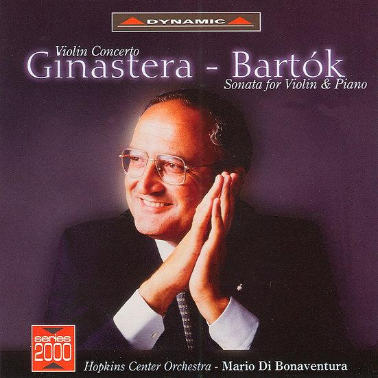 希那斯特拉:小提琴奏鳴曲&巴爾托克:小提琴奏鳴曲/小提琴:阿卡多 (CD)【Dynamic】