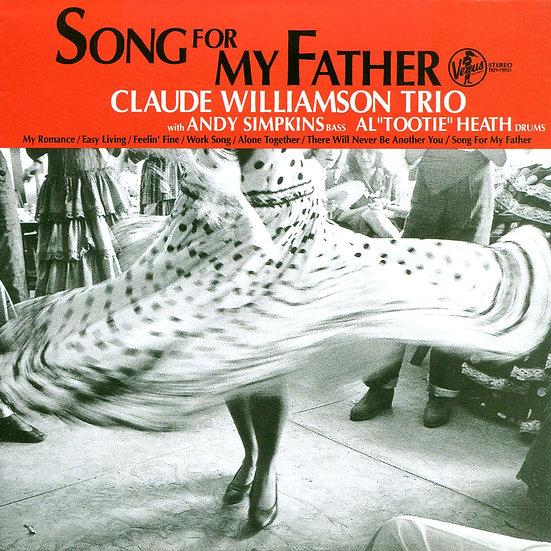 克勞帝.威廉森三重奏:給父親的歌 Claude Williamson Trio: Song For My Father (紙盒版CD) 【Venus】