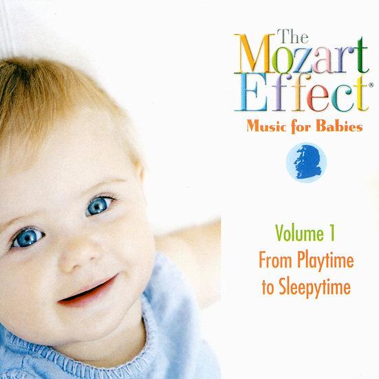 莫札特效應 嬰兒系列Vol. 1 - 遊戲到睡眠 Mozart Effects Vol. 1 (CD) 【Evosound】