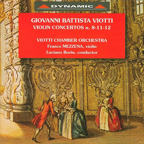 大師的禮讚 – 維歐提小提琴協奏曲全集1 (CD)【Dynamic】