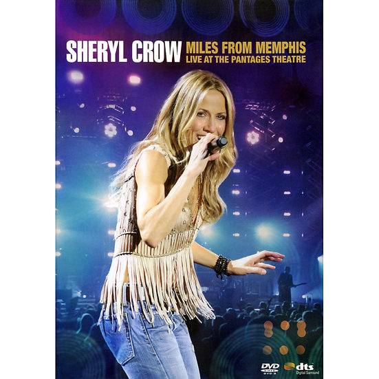 雪瑞兒.可洛:遠離曼菲斯-潘塔吉劇院演唱會 Sheryl Crow: Miles from Memphis (DVD) 【Evosound】