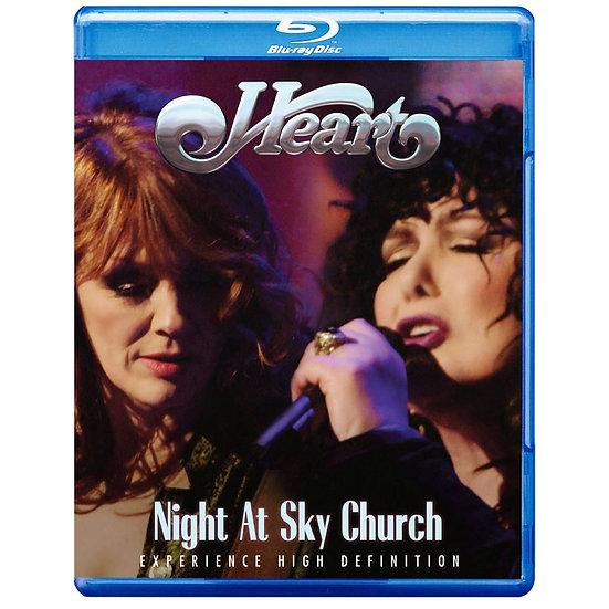紅心合唱團:天堂教堂之夜 Heart: Night At Sky Church (藍光Blu-ray) 【Evosound】