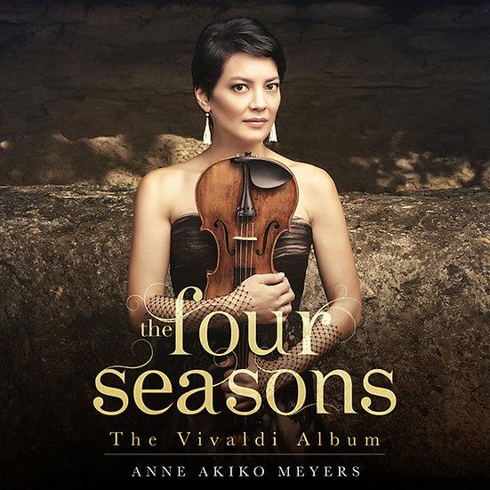 安.梅耶:四季 Anne Akiko Meyers: The Four Seasons - The Vivaldi Album (CD) 【Evosound】