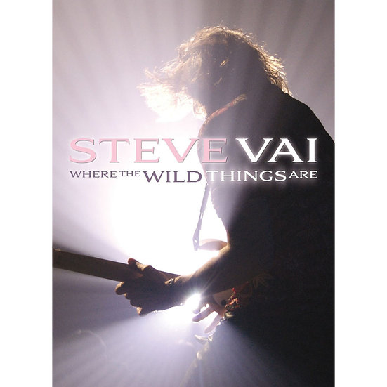 史帝夫范:野獸冒險樂園 Steve Vai: Where The Wild Things Are (2DVD) 【Evosound】
