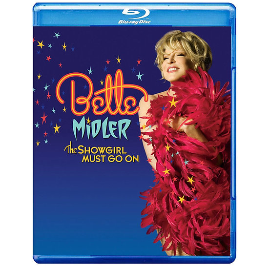 貝蒂米勒:舞孃不停歇 Bette Midler: The Showgirl Must Go On (藍光blu-ray) 【Evosound】