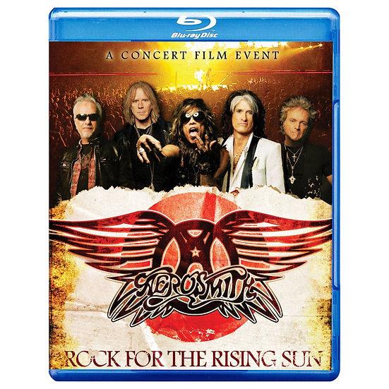 史密斯飛船:太陽升起的搖滾 Aerosmith: Rock For The Rising Sun (藍光blu-ray) 【Evosound】