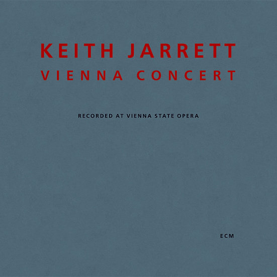 奇斯.傑瑞特:維也納音樂會 Keith Jarrett: Vienna Concert (CD) 【ECM】
