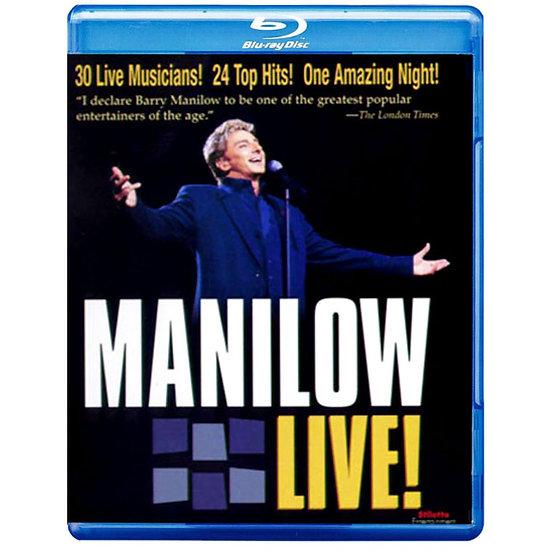 巴瑞.曼尼洛:現場演唱會 Barry Manilow: Manilow Live! (藍光Blu-ray) 【Evosound】