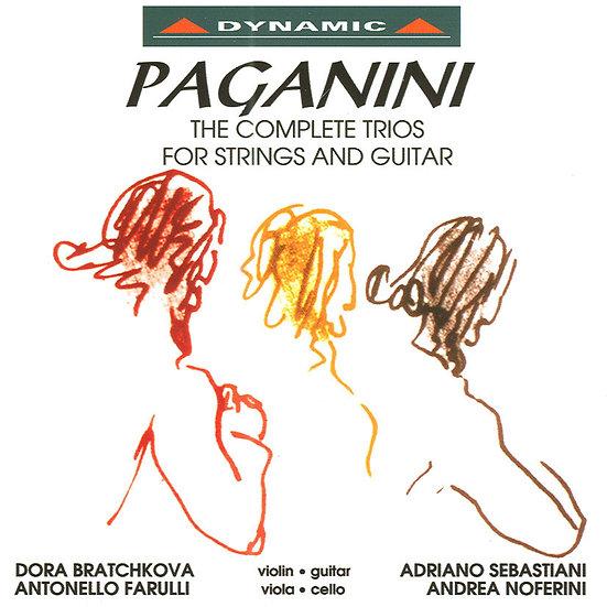 帕格尼尼:吉他三重奏 (CD)【Dynamic】