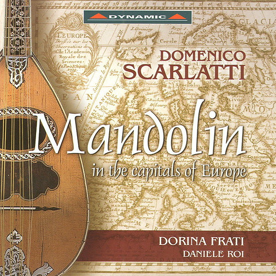 Mandolin in the capitals of Europe (CD)【Dynamic】