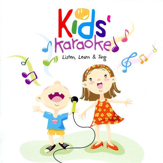 寶貝卡拉 V.A.: Kids Karaoke (2CD) 【Evosound】