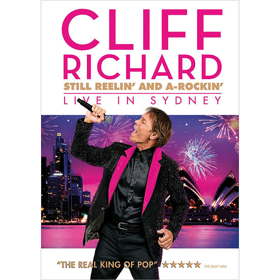 克里夫里察:依舊狂放與A級搖滾演唱會 Cliff Richard: Still Reelin' and A-Rockin' (DVD) 【Evosound】