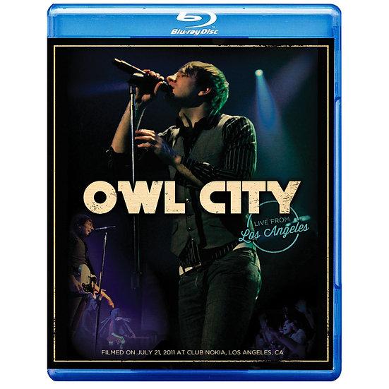 貓頭鷹城市:洛杉磯演唱會 Owl City: Live From Los Angeles (藍光blu-ray) 【Evosound】