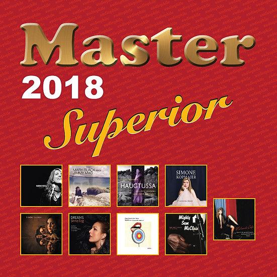 Master發燒碟2018 Master Superior Audiophile 2018 (Vinyl LP) 【Master】