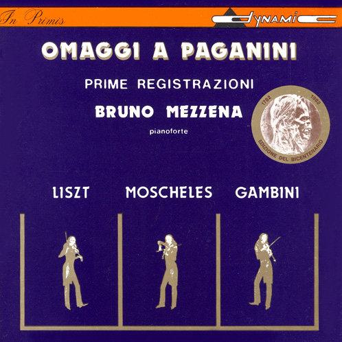 帕格尼尼讚歌 OMAGGI A PAGANINI (CD)【Dynamic】