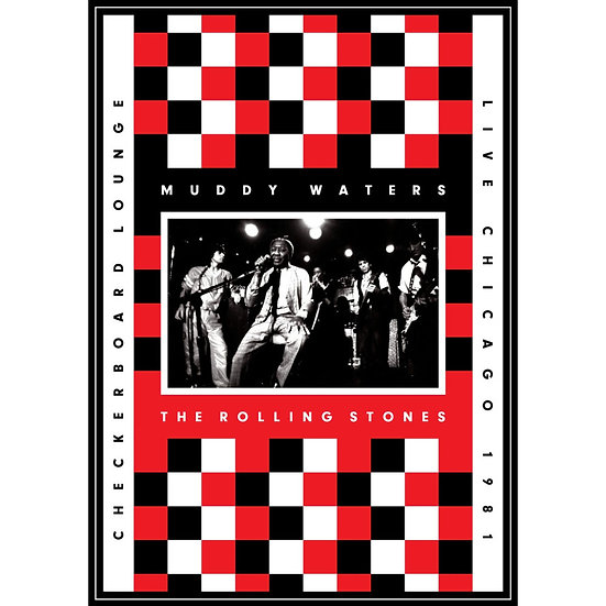 穆迪.華特斯與滾石樂團:1981年芝加哥棋盤酒吧演唱會 (DVD+CD) 【Evosound】