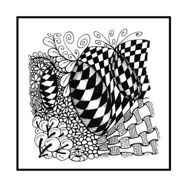 Checkered bug tile