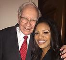 Mykesha A. Robinson and Warren Buffett