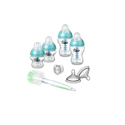 Tommee Tippee Kit Biberões Anti-Cólicas Recém Nascido-verde