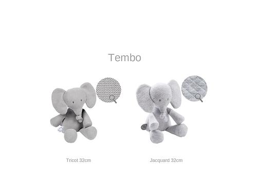 Nattou tembo - Elefante - 32cm