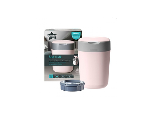 Tommee Tippee Contentor Sangenic Twist & Click Rosa