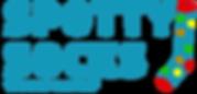 spotty socks logo blue.png