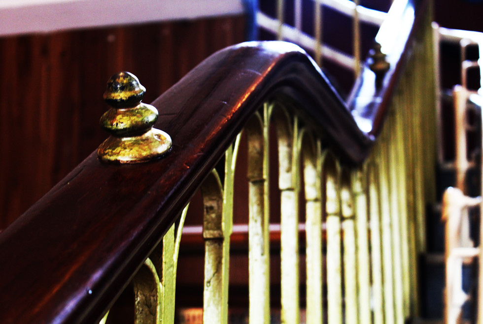 Banister of the Main Staircase