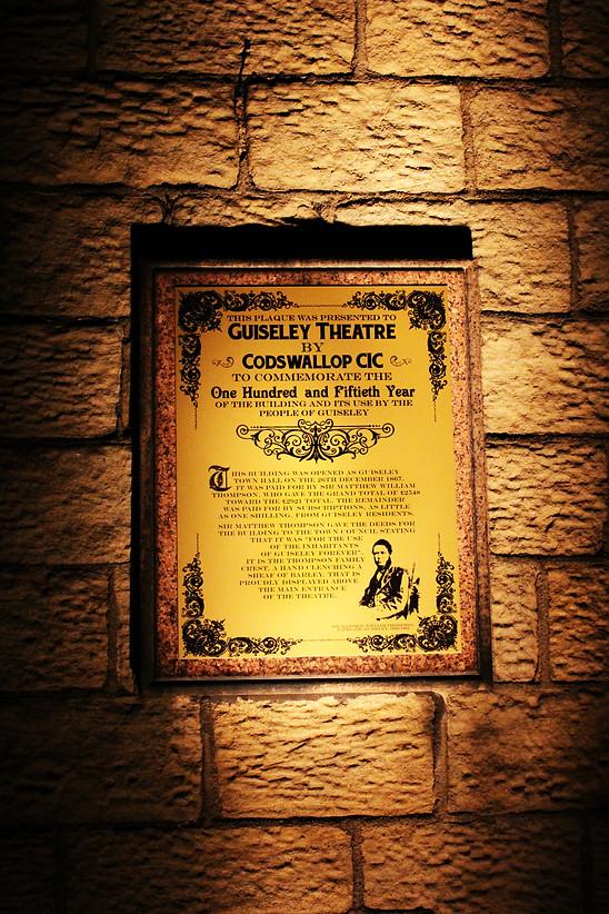 150 Years Commemorative Plaque