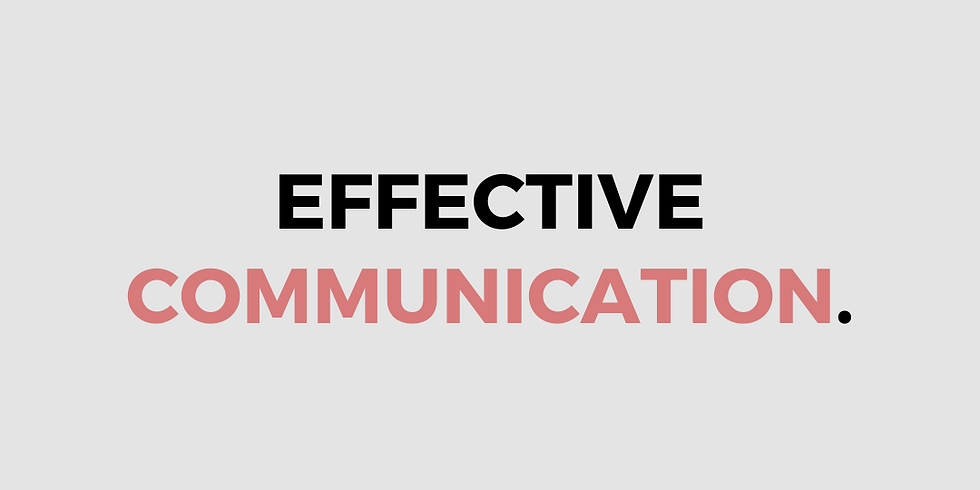 Effective Communication in Crisis