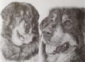 Sashi and Teya portrait